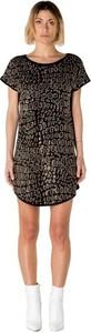 Sukienka Olivia Hops z okrągłym dekoltem mini