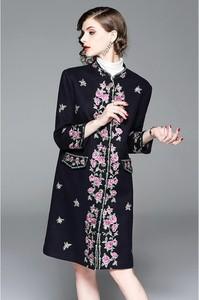 Płaszcz Zeraco z wełny w stylu casual