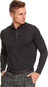Sweter Top Secret z bawełny
