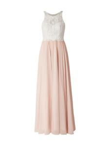 Różowa sukienka Laona maxi z szyfonu