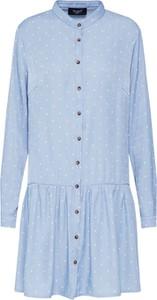 Niebieska sukienka Sister'S Point mini w stylu casual