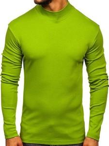 Zielony sweter Denley z bawełny