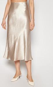 Złota spódnica MaxMara midi