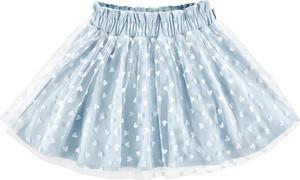 Niebieska spódniczka dziewczęca Bananakids dla dziewczynek z tiulu