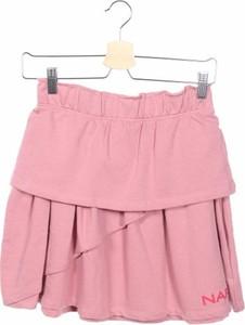 Różowa spódniczka dziewczęca Naf naf