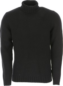 Czarny sweter Rossopuro