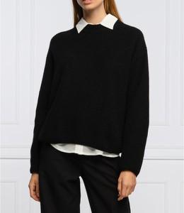 Czarny sweter Hugo Boss