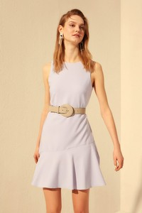 Fioletowa sukienka Trendyol mini