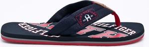 Granatowe buty letnie męskie Tommy Hilfiger