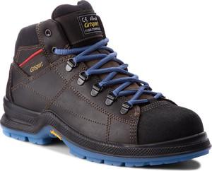 Buty trekkingowe grisport w sportowym stylu z nubuku