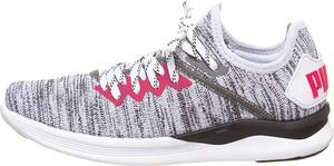 Sneakersy Puma z płaską podeszwą z nadrukiem sznurowane