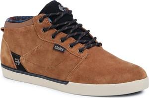 eobuwie.pl Sneakersy ETNIES - Jefferson Mid 4101000398 Brown/Black/Tan 204