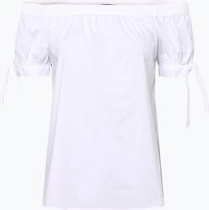 Czarna bluzka Marie Lund z krótkim rękawem w stylu casual