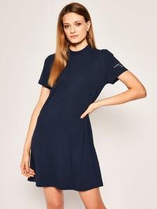 Sukienka Tommy Jeans prosta w stylu casual mini
