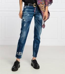 Jeansy Dsquared2 w stylu casual z jeansu