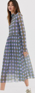 Fioletowa sukienka Levete Room