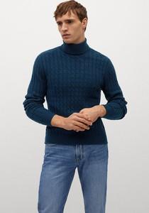 Sweter Mango Man z dzianiny w stylu casual
