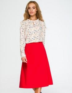 Czerwona spódnica Style midi