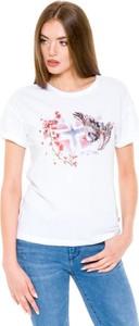 T-shirt Napapijri z okrągłym dekoltem