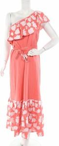 Różowa sukienka Pampelone maxi