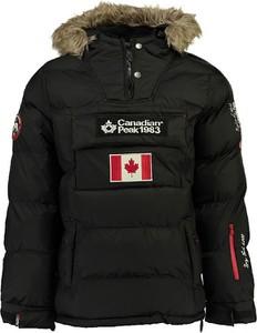 Czarna kurtka Canadian Peak krótka