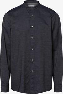 Granatowa koszula Calvin Klein z długim rękawem