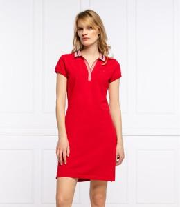 Sukienka Tommy Hilfiger z krótkim rękawem w stylu casual mini