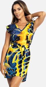 Sukienka Feba w stylu casual z krótkim rękawem mini