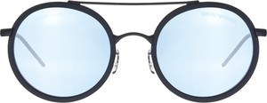 Miętowe okulary damskie Emporio Armani