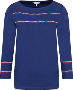 Bluzka Tommy Hilfiger w stylu casual z okrągłym dekoltem