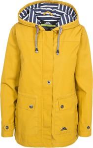 Żółta kurtka Trespass z kapturem krótka
