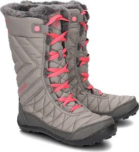 Buty dziecięce zimowe Columbia sznurowane