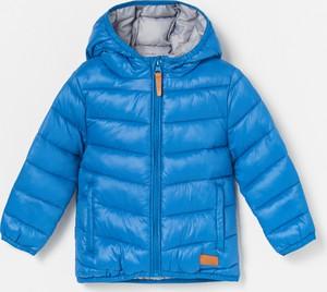 Niebieska kurtka dziecięca Reserved dla chłopców