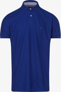 Koszulka polo Tommy Hilfiger z krótkim rękawem z bawełny