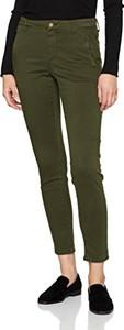 Zielone spodnie Selected Femme