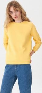 Żółta bluza House w młodzieżowym stylu