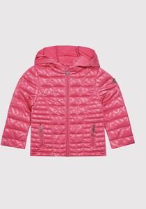Różowa kurtka dziecięca Guess dla dziewczynek