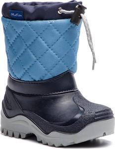 Niebieskie buty dziecięce zimowe eobuwie.pl