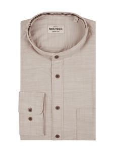 Koszula Montego w stylu casual ze stójką