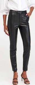 Spodnie Reserved w rockowym stylu ze skóry