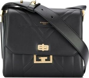 Czarna torebka Givenchy ze skóry na ramię matowa