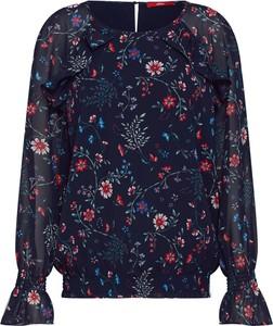 Niebieska bluzka S.Oliver Red Label z długim rękawem