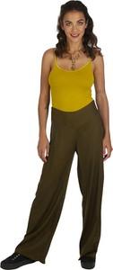 Zielone spodnie Aller Simplement w stylu retro