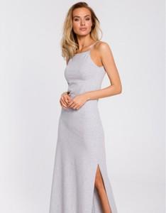 Sukienka MOE maxi na ramiączkach