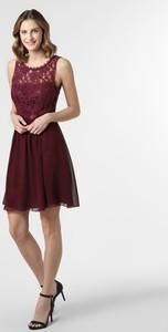 Czerwona sukienka SUDDENLY Princess bez rękawów z okrągłym dekoltem