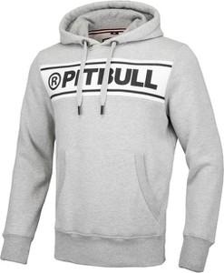 Bluza Pit Bull z tkaniny z nadrukiem