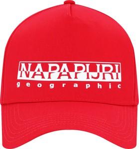Czapka Napapijri z nadrukiem