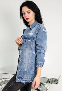 Kurtka Olika w młodzieżowym stylu z jeansu