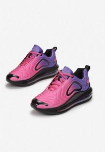 Różowe buty sportowe Esclusivo sznurowane