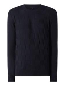 Granatowy sweter Armani Exchange